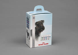 Packaging for dog food