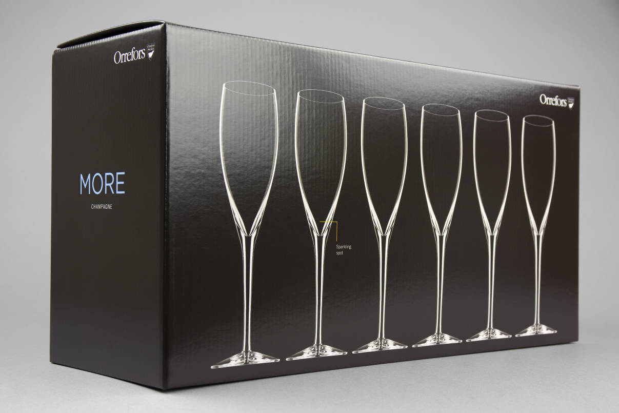 More Champagneglas – Multipack