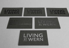Business cards – Living by Wern