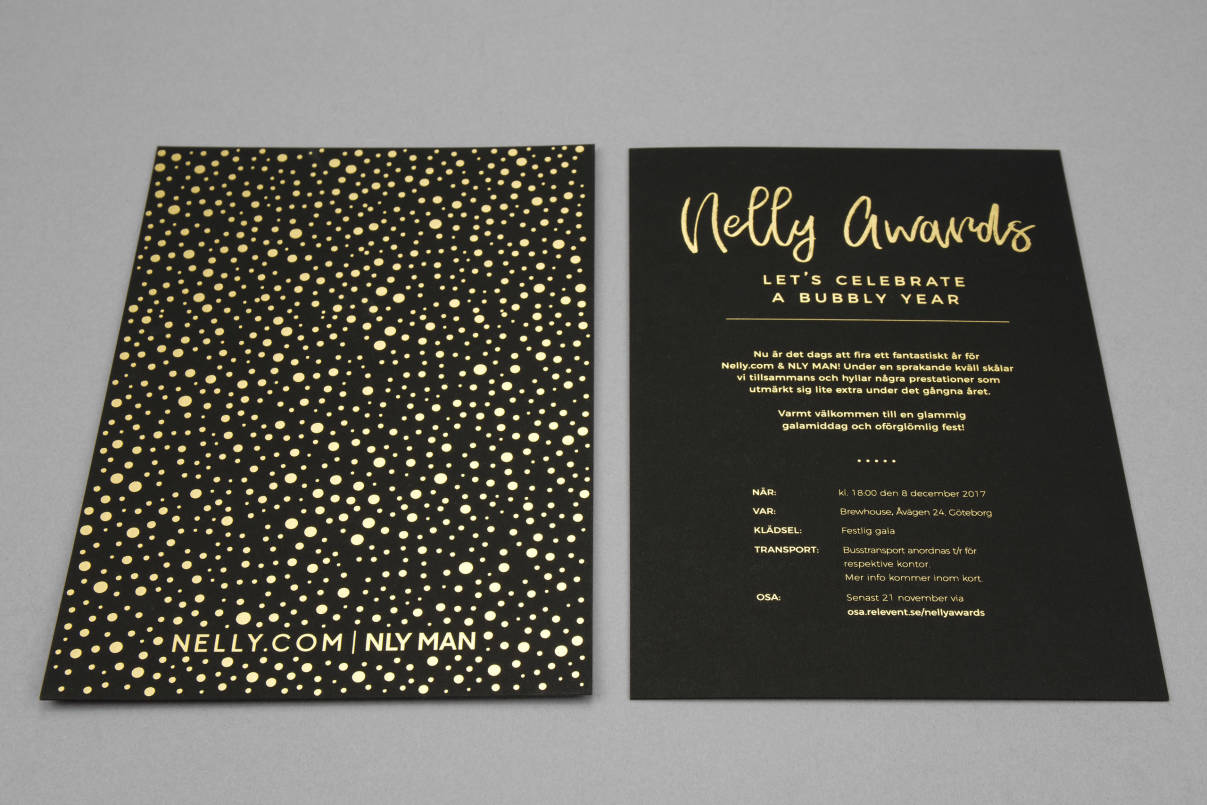 Nelly Awards – Invitation