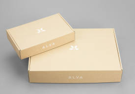 E-commerce packaging – Alva Linen